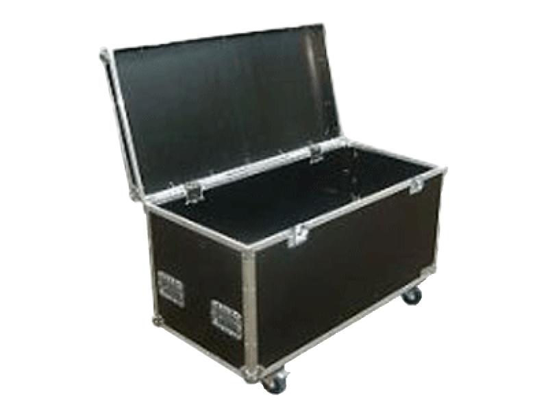 Flight-Case Truhe 120 x 60 x 60 cm auf Rollen von Case-Products